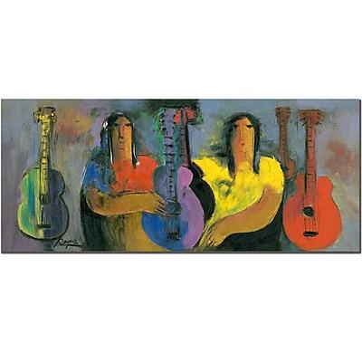 Trademark Fine Art Bohemiosby Boyer by Jeminez-Canvas Art 20x47 Inches