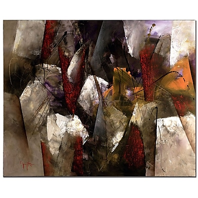 Trademark Fine Art Abstract III by Lopez Canvas Art Ready to Hang