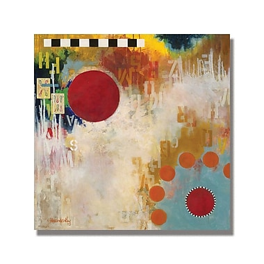 Trademark Fine Art Alexandra Rey 'The Hidden Message' Canvas Art 18x18 Inches