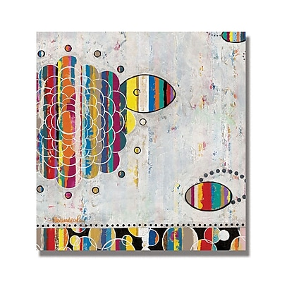 Trademark Fine Art Alexandra Rey 'We Shall See' Canvas Art 18x18 Inches