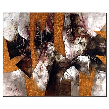 Trademark Fine Art Abstract IV by Lopez Canvas Art Ready to Hang