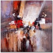 Trademark Fine Art Rio 'Cube Abstract II' Canvas Art 35x35 Inches