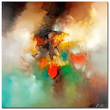 Trademark Fine Art Zavaleta 'Abstract I' Canvas Art 24x24 Inches
