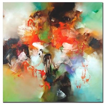 Trademark Fine Art Rio 'Abstract II' Canvas Art 35x35 Inches