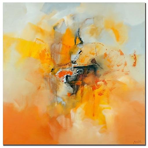 Trademark Fine Art Zavaleta 'Abstract IV' Canvas Art 24x24 Inches