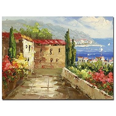 Trademark Fine Art Rio 'Mountain View' Canvas Art