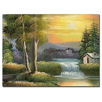 Trademark Fine Art Rio, 'Old House' Canvas Art 35x47 Inches