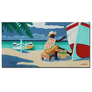 Trademark Fine Art Antonio 'Caribbean Peacefulness' Canvas Art