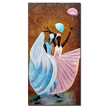 Trademark Fine Art Antonio 'Dance of Praise' Canvas Art
