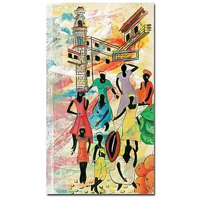 Trademark Fine Art Robert Lulzan 'La Bodeguita' Canvas Art