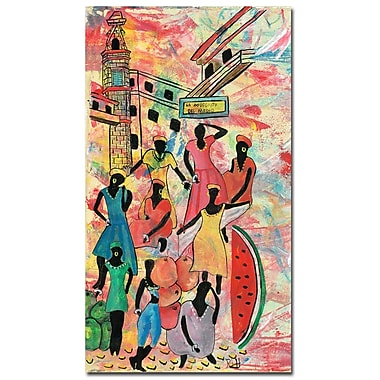 Trademark Fine Art Robert Lulzan 'La Bodeguita II' Canvas Art