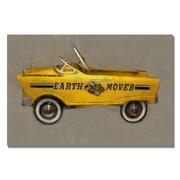 Trademark Fine Art Michelle Calkins 'Earth Mover Pedal Car' Canvas Art