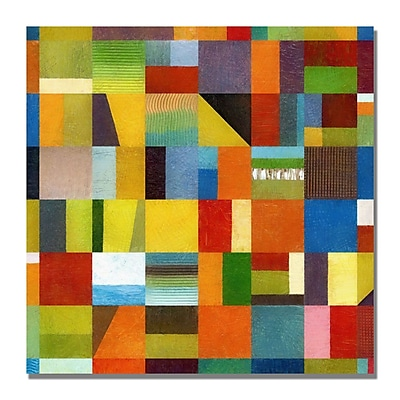 Trademark Fine Art Michelle Calkins 'Eye Candy 64' Canvas Art