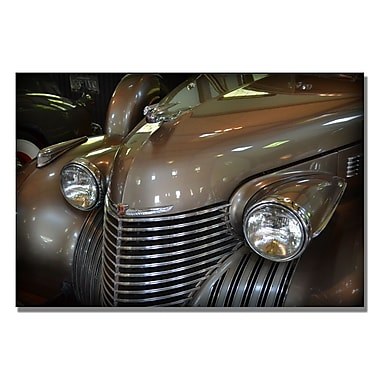 Trademark Fine Art Michelle Calkins '1940 Cadillac Model 62' Canvas Art 22x32 Inches
