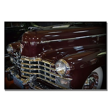 Trademark Fine Art Michelle Calkins '1948 Cadillac-Series 75' Canvas Art 16x24 Inches
