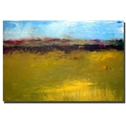 Trademark Fine Art Abstract Landscape The Highways Series by Michelle Calkins