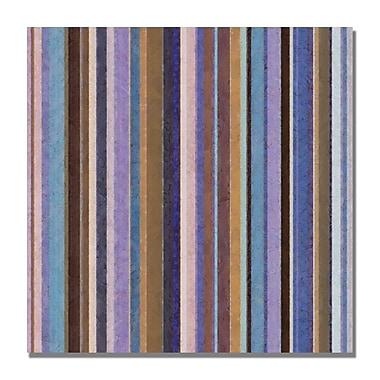 Trademark Fine Art Michelle Calkins 'Comfortable Stripes II' Canvas Art