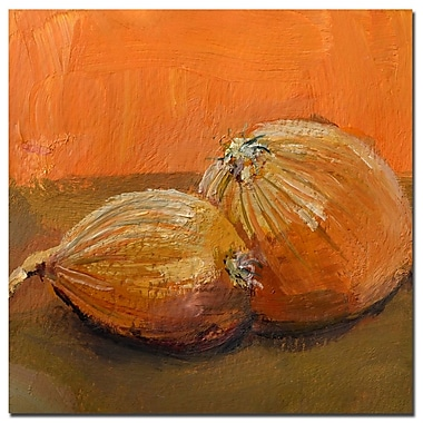 Trademark Fine Art Michelle Calkins 'Yellow Onions' Canvas Art