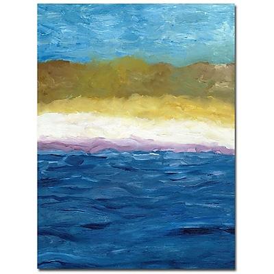 Trademark Fine Art Michelle Calkins 'Abstract Dunes' Canvas Art