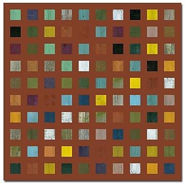 Trademark Fine Art Michelle Calkins 'Skyscraper Abstract II' Canvas Art, MC084D-C2424GG