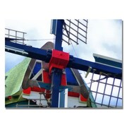 Trademark Fine Art Michelle Calkins 'Dutch Windmill' Canvas Art
