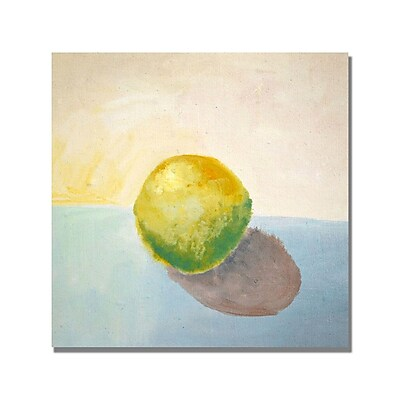 Trademark Fine Art Michelle Calkins 'Yellow Lemon Still Life' Canvas Art