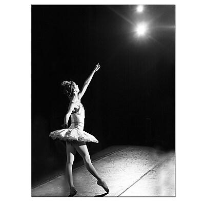 Trademark Fine Art Ballerina by Martha Guerra-Canvas Art Ready to Hang, MG0003-C1824GG