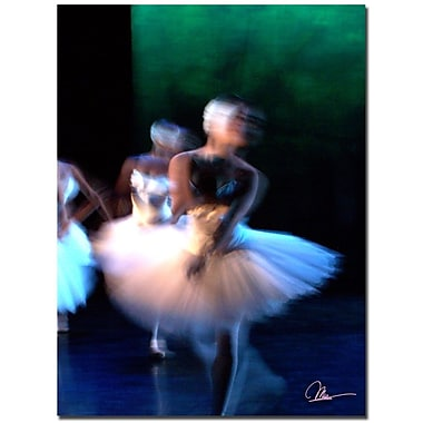 Trademark Fine Art Dancers II by Martha Guerra Canvas Art 14x19 Inches