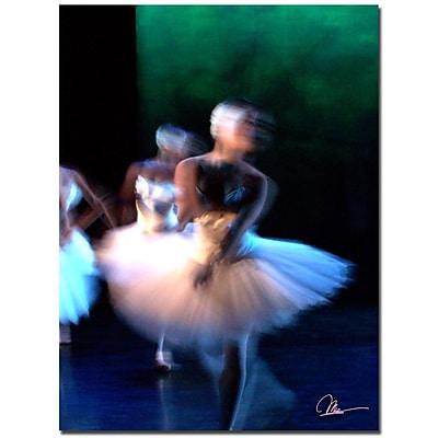 Trademark Fine Art Dancers II by Martha Guerra Canvas Art 14x19 Inches