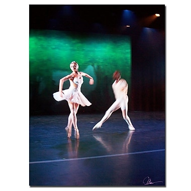 Trademark Fine Art Dancers III by Martha Guerra Canvas Art 14x19 Inches