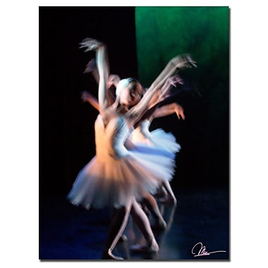 Trademark Fine Art Dancers V by Martha Guerra-Canvas Art 18x24 Inches