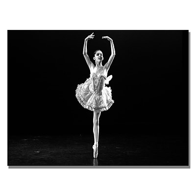 Trademark Fine Art Martha Guerra 'Ballerina I' Canvas Art 30x47 Inches