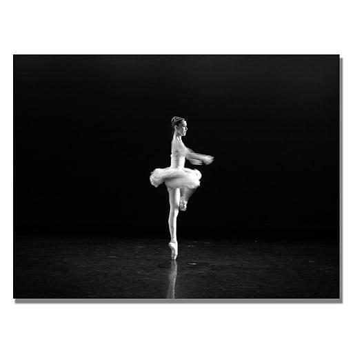 Trademark Fine Art Martha Guerra 'Ballerina III' Canvas Art 18x24 Inches