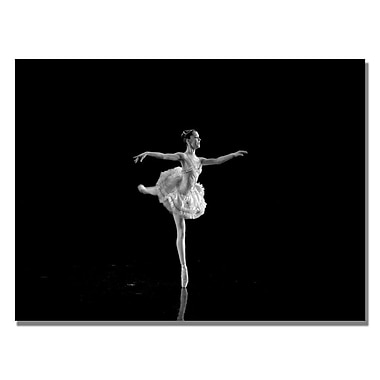 Trademark Fine Art Martha Guerra 'Ballerina IV' Canvas Art 30x47 Inches