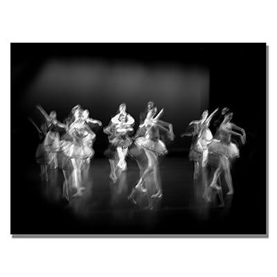 Trademark Fine Art Martha Guerra 'Ballerina VI' Canvas Art 22x32 Inches