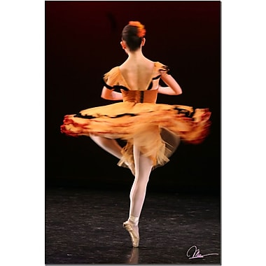 Trademark Fine Art 3 Dancers by Martha Gueraa Canvas Art