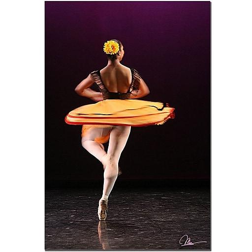 Trademark Fine Art Martha Guerra 'Three Dancers' Canvas Art 14x19 Inches