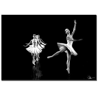 Trademark Fine Art Martha Guerra 'Ballerina VI' Canvas Art