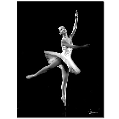 Trademark Fine Art Martha Guerra 'Ballerina VII' Canvas Art