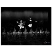 Trademark Fine Art Martha Guerra 'Ballet III' Canvas Art