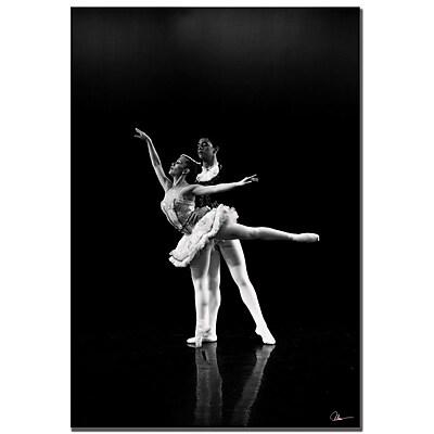 Trademark Fine Art Martha Guerra 'Dancers III' Canvas Art 14x19 Inches