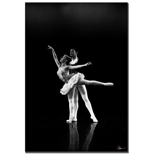 Trademark Fine Art Martha Guerra 'Dancers III' Canvas Art 22x32 Inches