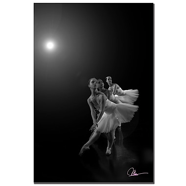 Trademark Fine Art Martha Guerra 'Dancers III' Canvas Art 14x19 Inches, MG057-C1419GG