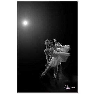 Trademark Fine Art Martha Guerra 'Dancers III' Canvas Art 14x19 Inches, MG057-C1419GG
