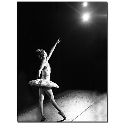 Trademark Fine Art Martha Guerra 'Ballerina II' Canvas Art 24x32 Inches