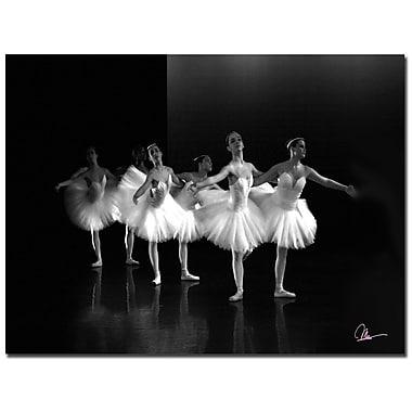 Trademark Fine Art Martha Guerra 'Dancers II' Canvas Art, MG070-C1824GG