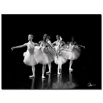 Trademark Fine Art Martha Guerra 'Dancers III' Canvas Art