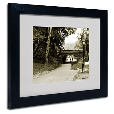 Trademark Fine Art Miguel Paredes 'Passage I' Matted Art Black Frame 11x14 Inches
