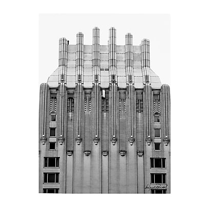 Trademark Fine Art Miguel Paredes 'Building I' Canvas Art 30x47 Inches