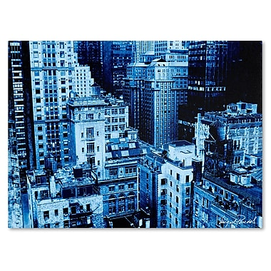 Trademark Fine Art Miguel Paredes 'Upper West Side' Canvas Art 35x47 Inches